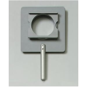 Holder for optisk gitter/dias 50x 50 mm, på stang