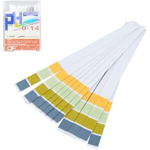 pH-papir, 0-14, strips