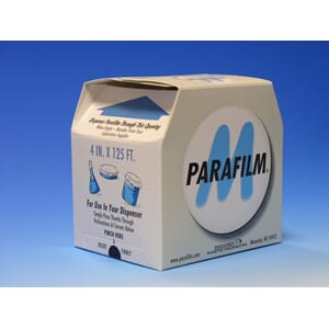 Parafilm i dispenser: bredde: 100 mm x 38 m