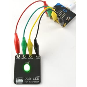 RGB Led pære for micro:bit